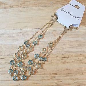 "NWT Vanderbilt Goldtone Necklace, 16"" chain"